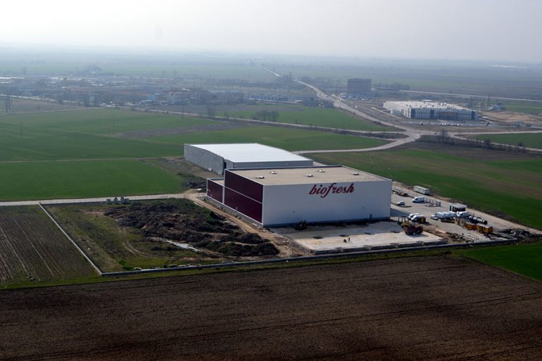 "Biofresh factory in Commercial and Industrial Zone ""Maritza"", Trakia Economic Zone, Plovdiv, Bulgaria"