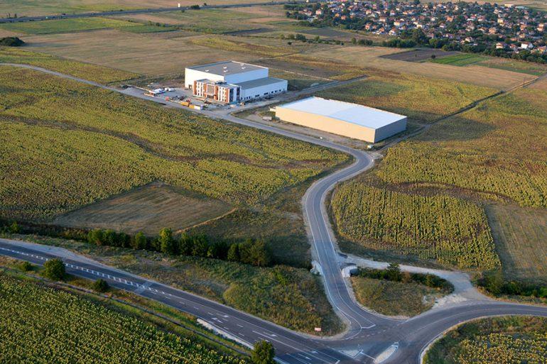 "Biofresh factory in Commercial and Industrial Zone ""Maritza"", Trakia Economic Zone, Plovdiv, Bulgaria"