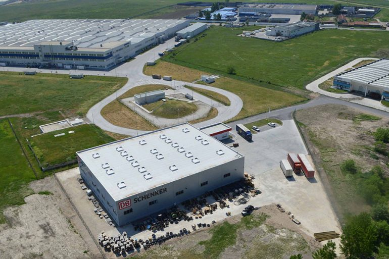 "DB Schenker werehouse in Commercial and Industrial Zone ""Maritza"", Trakia Economic Zone, Plovdiv, Bulgaria"