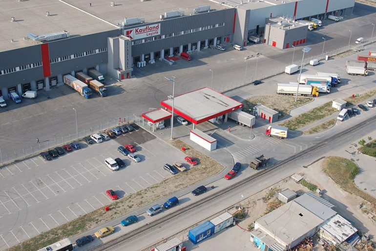 kaufland in rakovski industrial zone