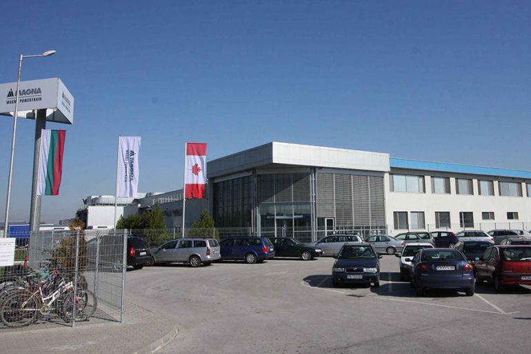 magna factory in rakovski industrial zone