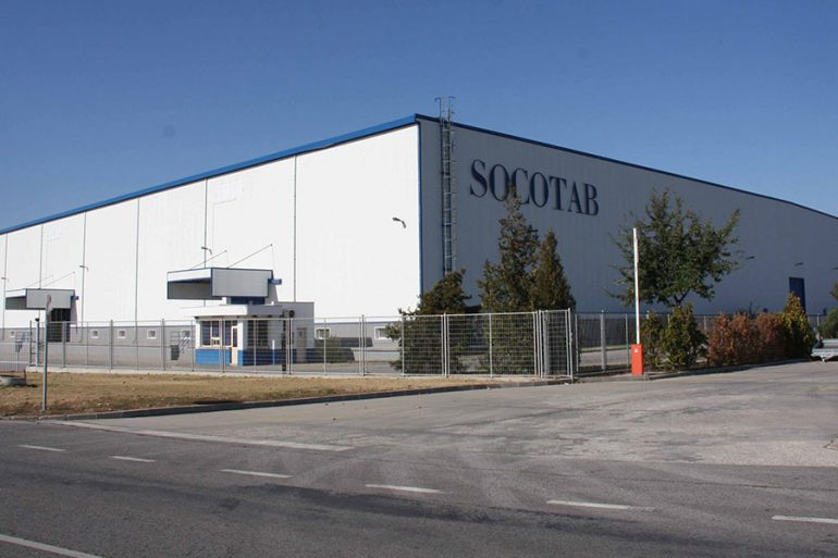 "Socotab factory in Commercial and Industrial Zone ""Maritza"" , Trakia Economic Zone, Plovdiv, Bulgaria"