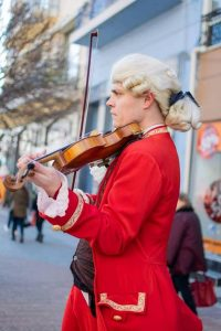 Georgi Dimitroff quit his job at the state orchestra to play violin on the streets of Plovdiv