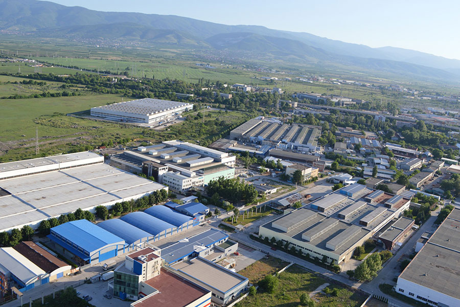 Industrial Park Plovdiv in Trakia Economic Zone, Plovdiv, Bulgaria