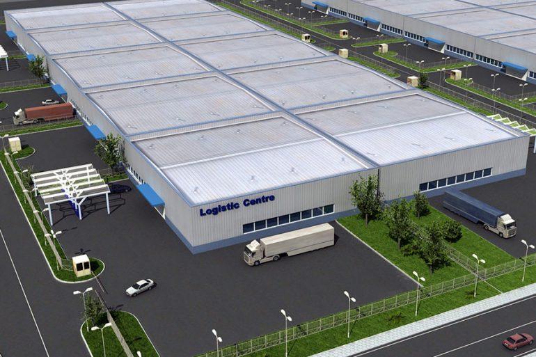 Kaloyanovo industrial zone in Trakia Economic Zone, Plovdiv, Bulgaria