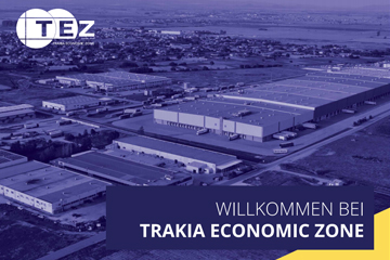 Trakia Economic Zone Brochure DE