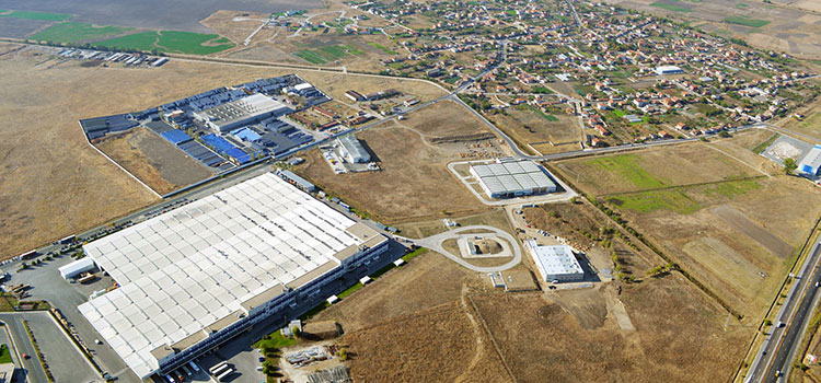 Industrial zone Maritza in Trakia Economic Zone