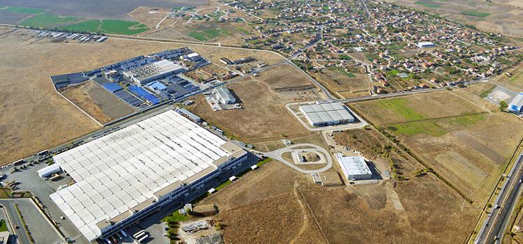 Industrial zone Maritza in Trakia Economic Zone