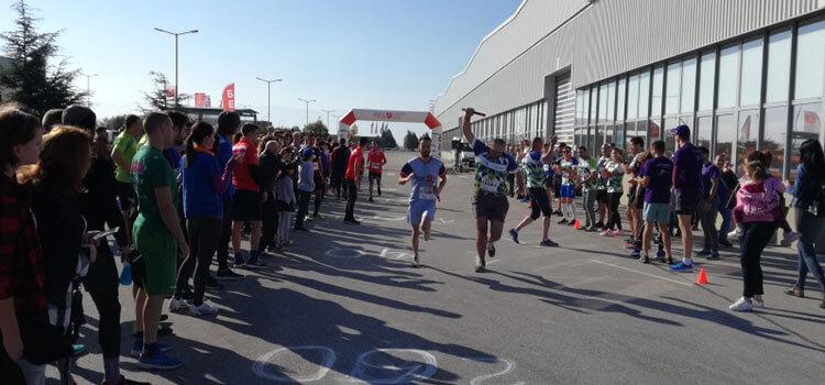 Част от състезанието LIEBHERR Business Run в Тракия икономическа зона